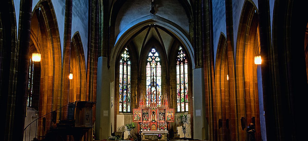 Stadtpfarrkirche St.-Johannes der Täufer